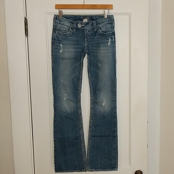 Silver Jeans Denim - Silver Tuesday Bootcut jeans, sz W26/L33